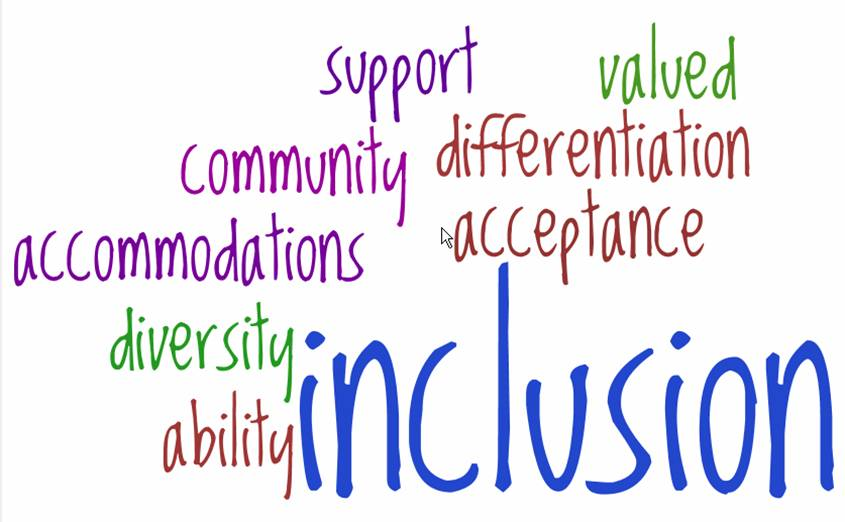 Inclusion visual
